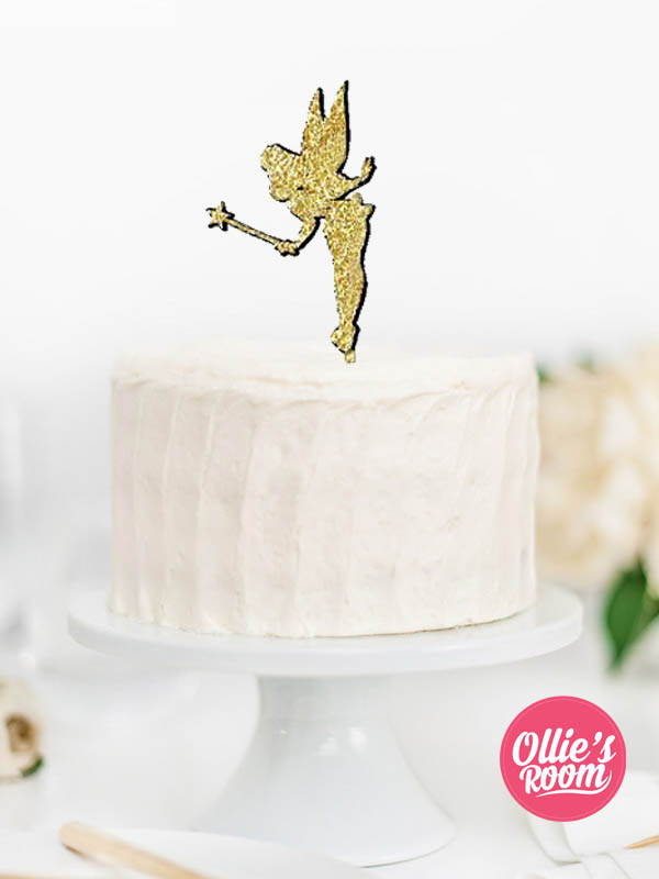 Tinkerbell Or Fairy Custom Cake Topper
