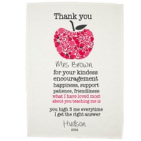 Teacher Tea Towel Gifts