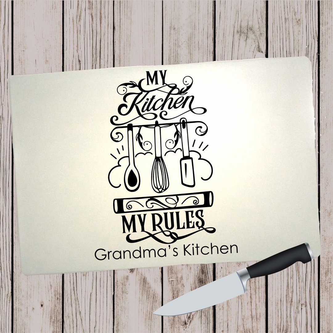 Glass Cutting Board - My Kitchen Rules