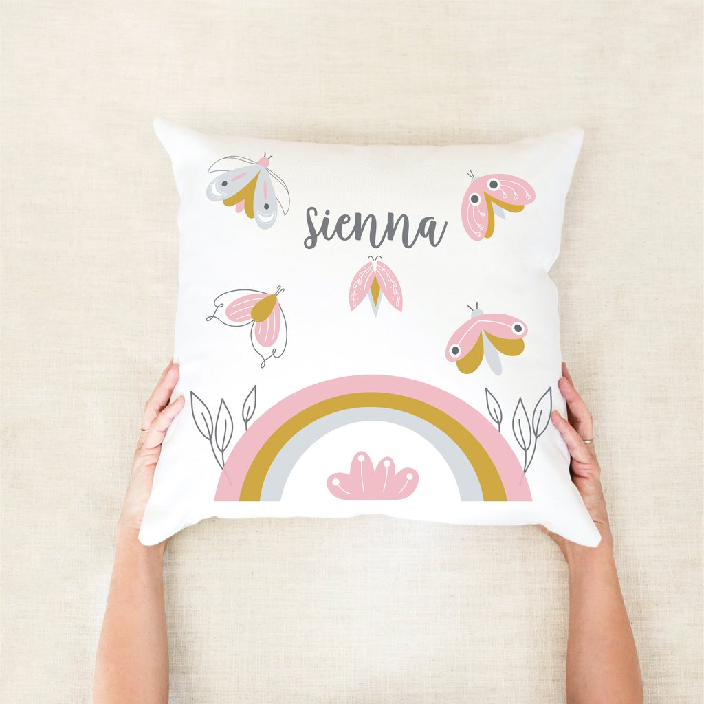 Personalised Cushion Butterfly/Moth