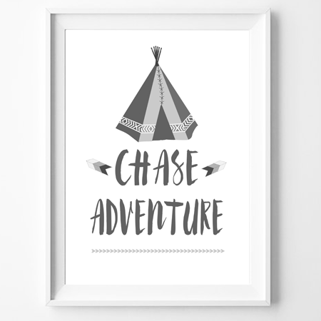 Print - Chase Adventure