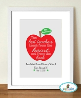 Teacher Print Gifts