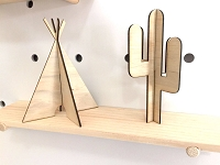 Wooden Teepees