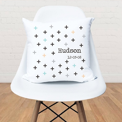 Criss Cross Kids Personalised Cushion