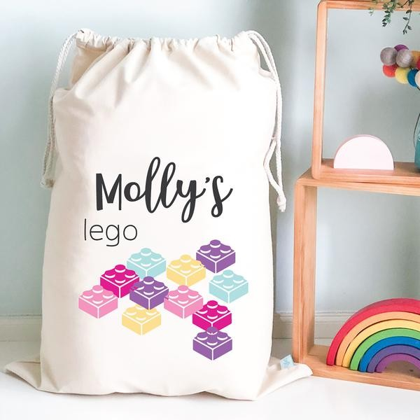Personalised Drawstring Storage Sack - LEGO 2