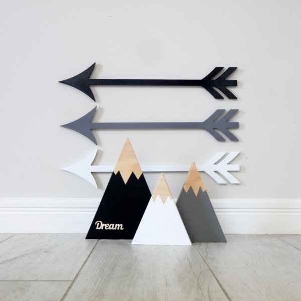Mountain and Arrow Set