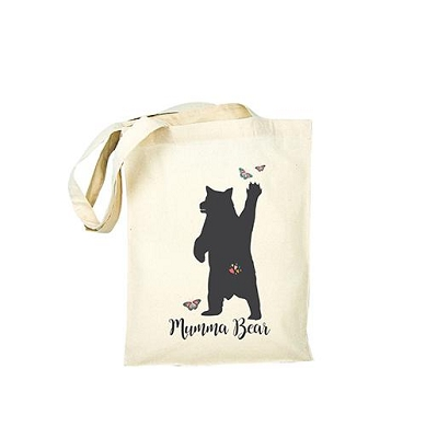 Personalised Mama Bear Tote Bag