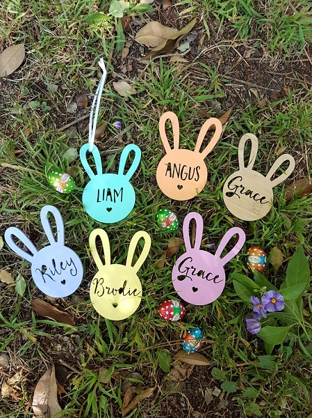 Personalised Easter Bunny Tags