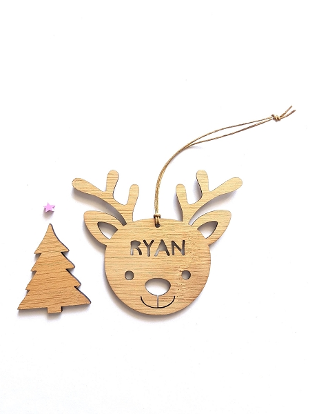 Rudolph Personalised Christmas Ornament