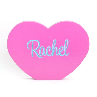 Personalised Engraved Wooden Shape