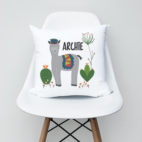 Alpaca Personalised Cushion