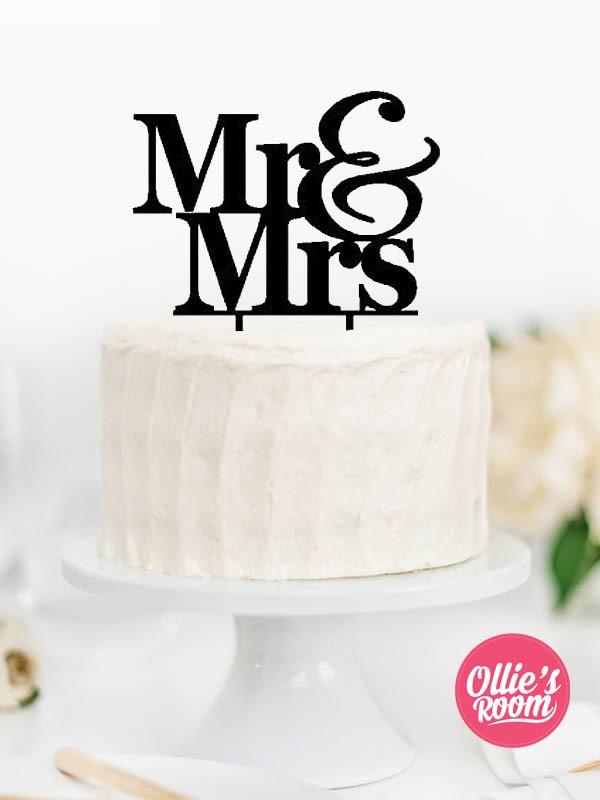 Cake Topper Designer Mr Mrs