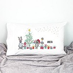 Aussie Animals Kids Personalised Christmas Pillow Case