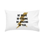Lightning Bolt Personalised Pillow Case