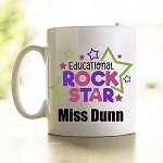 Personalised Teacher Mug Educational Rockstar 2
