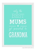 Mother's Day - Only The Best (customisable)  PRINT YOURSELF