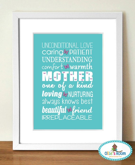 MOTHER Poster Print  PRINT YOURSELF