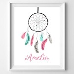 PRINT YOURSELF Personalised Dreamcatcher Print