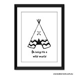 Print - Wild Things Teepee