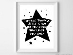 Print - Twinkle Twinkle Little Star
