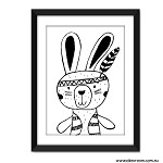 Print - Wild Things Bunny