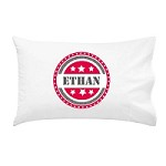 Boys Shield Personalised Pillow Case