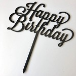 SALE Cake topper - Large Happy Birthday