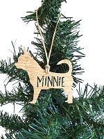 CHIHUAHUA Personalised Christmas Ornament