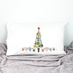 Christmas Bauble Personalised Christmas Pillow Case