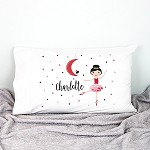 Christmas Dancer Kids Personalised Pillow Case