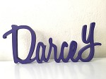Wooden DARCEY Name  - 48cm long x 20cm high