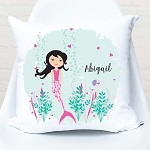 Mermaid Personalised Custom Cushion