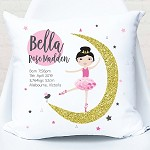 Moon Dancer Birth Personalised Cushion