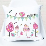 Garden Party Personalised Custom Cushion