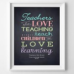 Print - Teachers who love teaching (personalised)