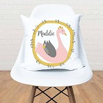 Swan Personalised Custom Cushion