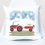 Tractor Farming Personalised Cushion