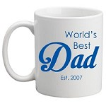 Personalised Kids Mug/Cup - World's Best Dad