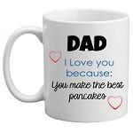 Personalised Kids Mug/Cup - I Love You Because Father's Day