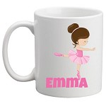 Personalised Kids Mug/Cup - Ballerina