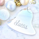 Bell Personalised Christmas Ornament Decoration