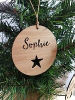 Christmas Tree Personalised Christmas Ornament