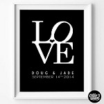 LOVE Poster Print - PRINT YOURSELF
