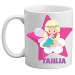 Personalised Kids Mug/Cup - Fairy and Star