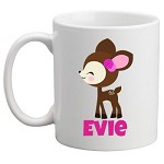 Personalised Kids Mug/Cup - Fawn
