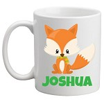 Personalised Kids Mug/Cup - Fox