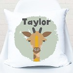 Giraffe Personalised Custom Cushion