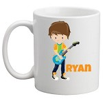 Personalised Kids Mug/Cup - Rock Star