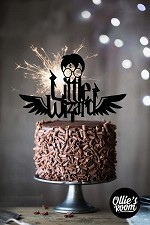 Little Wizard Harry Potter Cake Topper