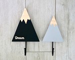 Kids Coat Hook Mountain Set
